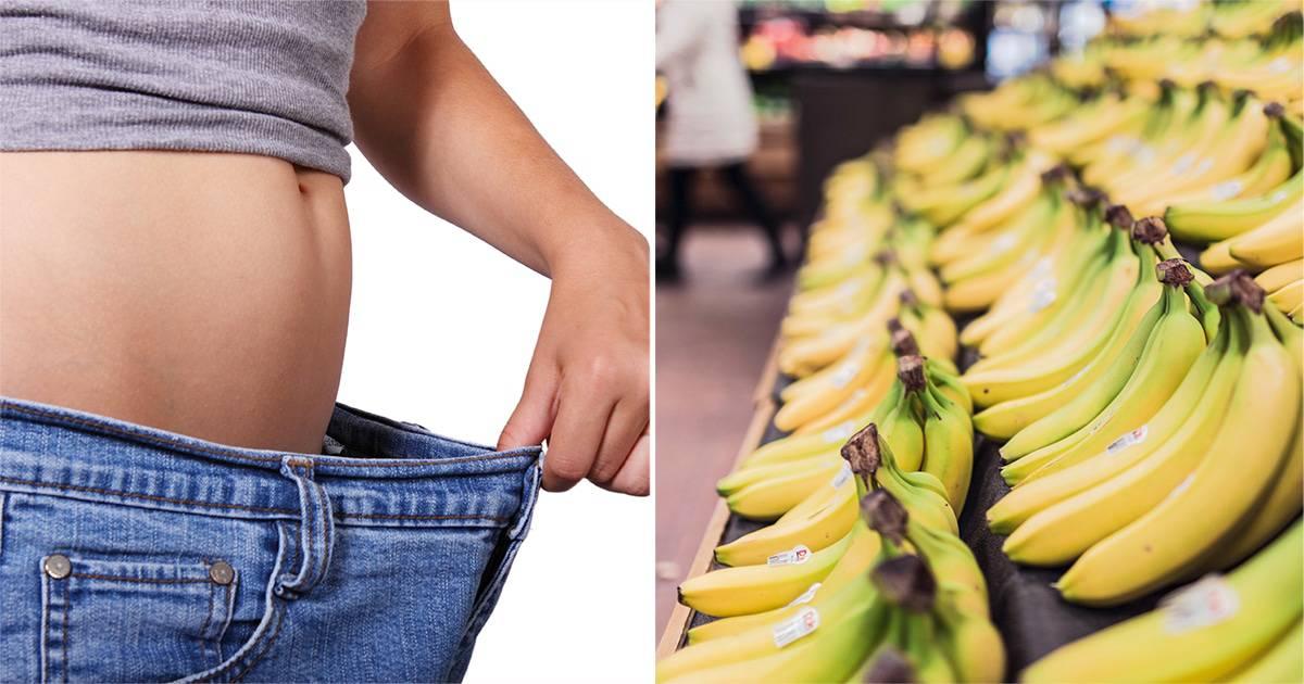 Bananele si pierderea in greutate